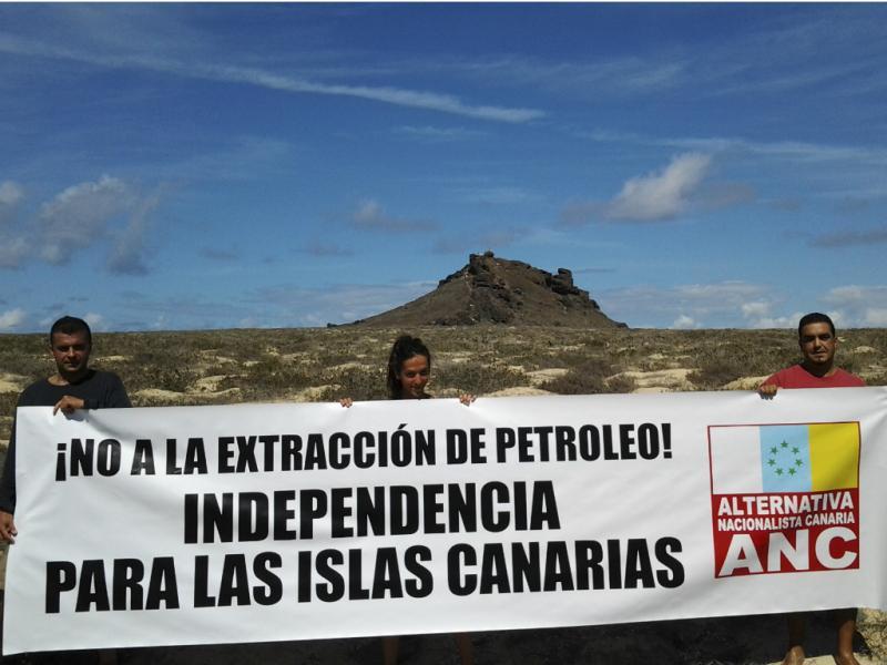 Ativistas nas ilhas Selvagens [Lusa]