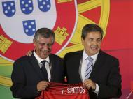 Fernando Santos e Fernando Gomes (Inácio Rosa/Lusa)