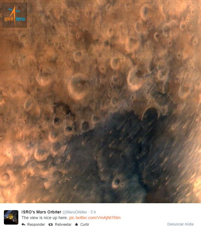 Órbita de Marte (Twitter)