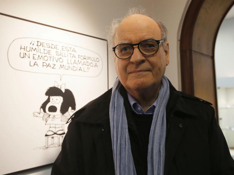 Mafalda faz 50 anos (REUTERS)