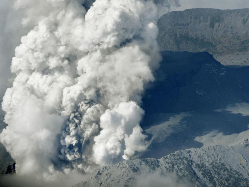 Vulcão Kyodo (REUTERS)