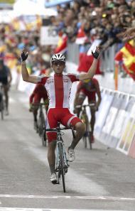 Mundiais de ciclismo de estrada (Lusa)