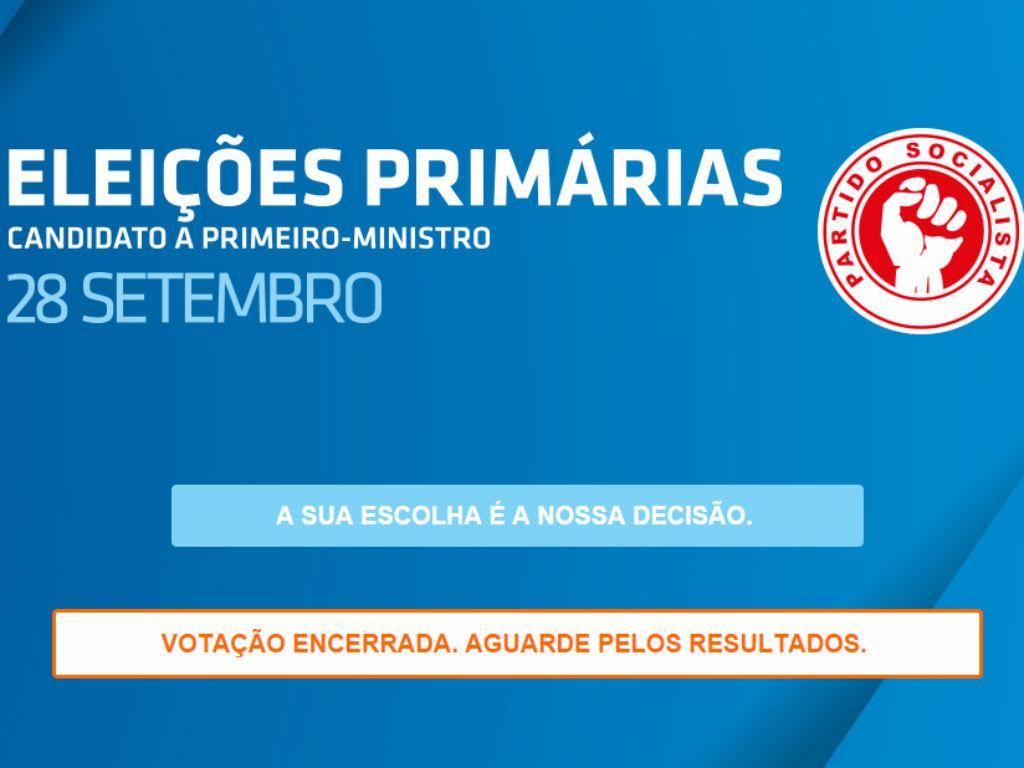 Primárias PS [Site oficial]
