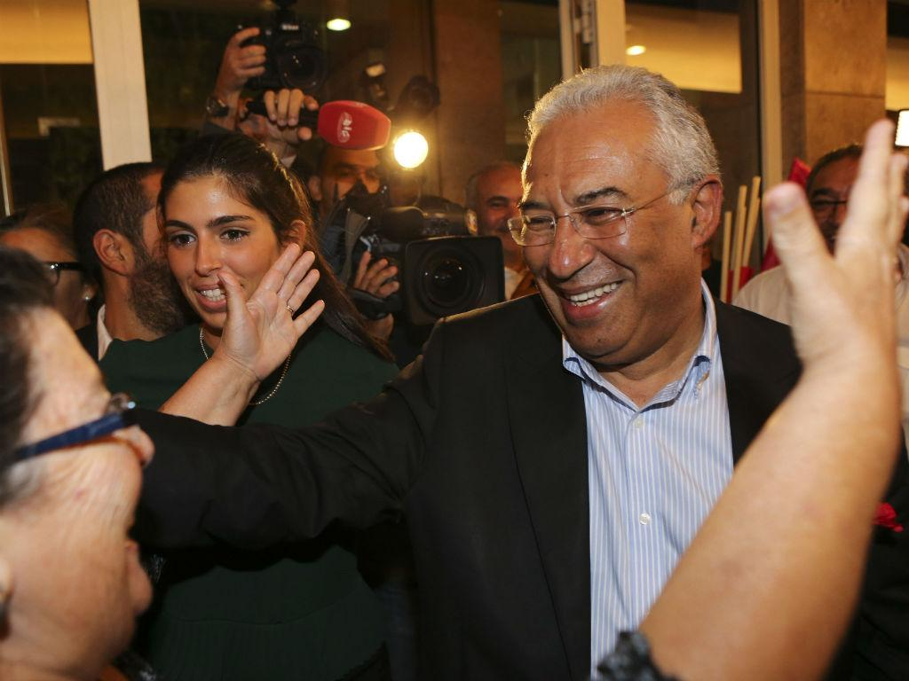 Primárias PS - António Costa canta vitória [Foto: Lusa]