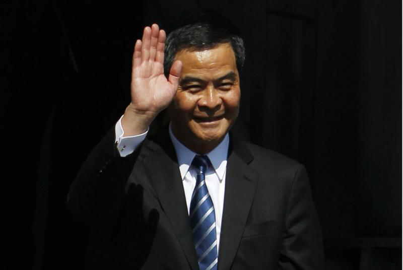 C.Y. Leung, chefe executivo de Hong Kong (Reuters)