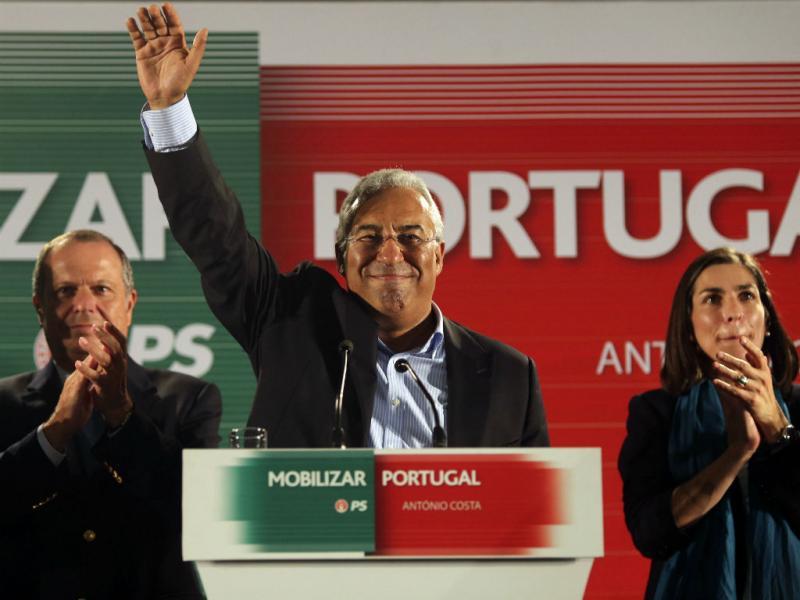 Primárias PS - António Costa vence eleições [Foto: Lusa]