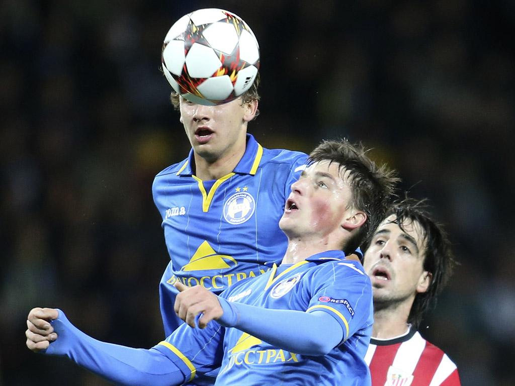 BATE vs Athletic Club (Reuters)
