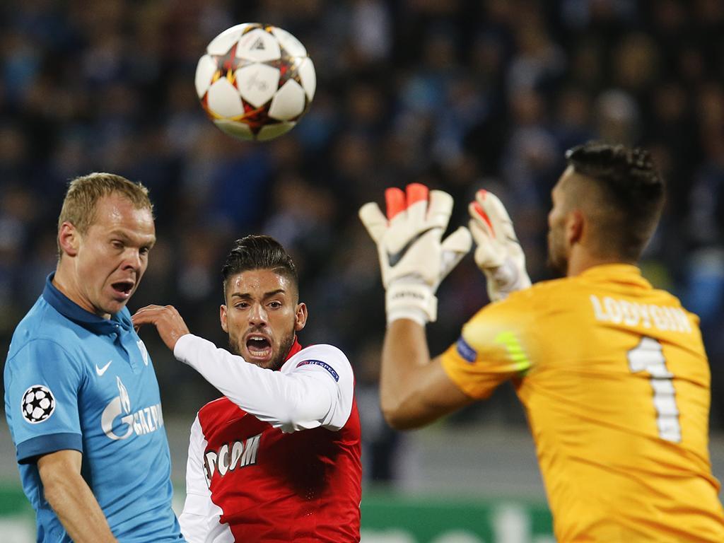 Zenit vs. Mónaco (Reuters)