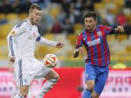 Dínamo Kiev vs. Steaua Bucareste (Lusa)
