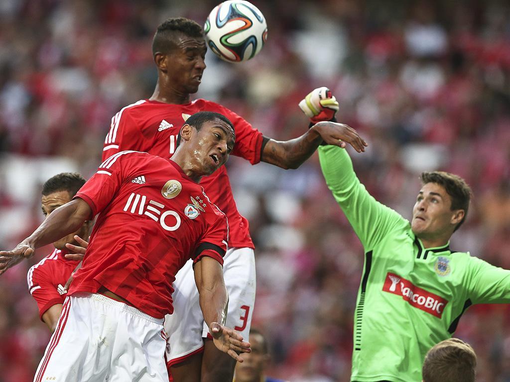 Benfica vs Arouca (LUSA)