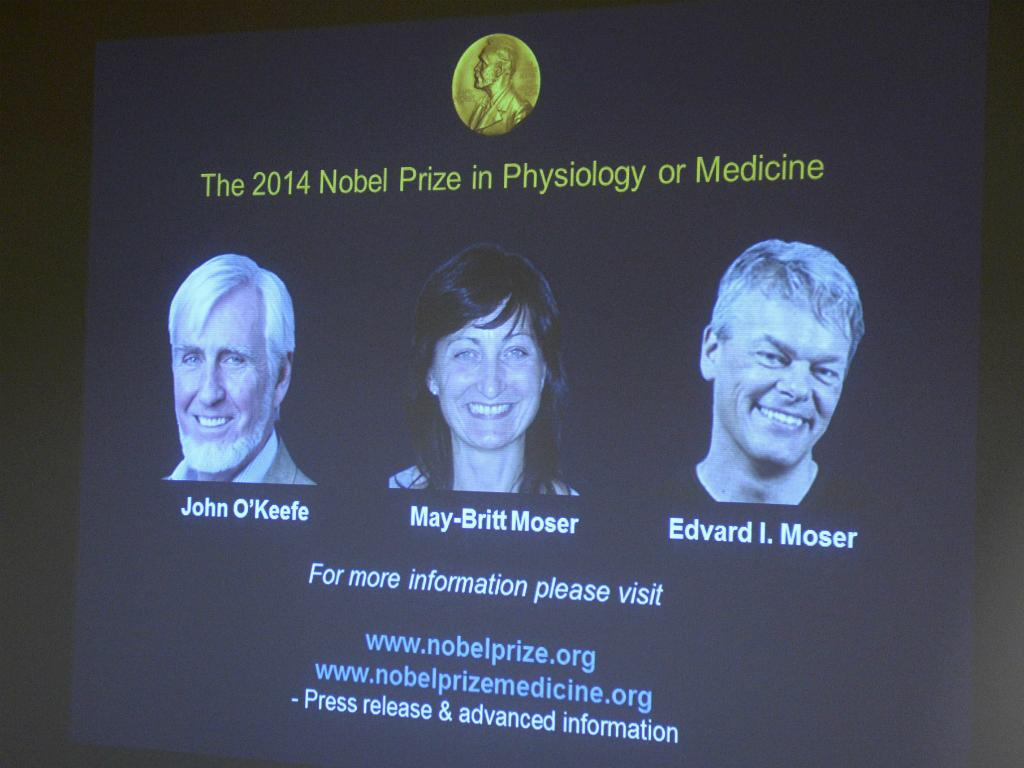 Prémio Nobel Fisiologia ou Medicina 2014