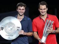 Roger Federer vence o Masters de Xangai (Reuters)