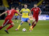 Suécia vs Liechtenstein (Lusa)