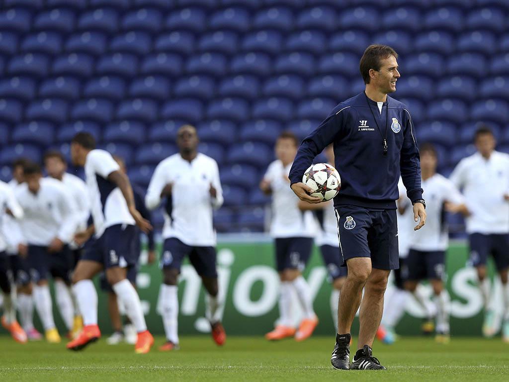 FC Porto: o último treino para o At. Bilbao (Lusa)