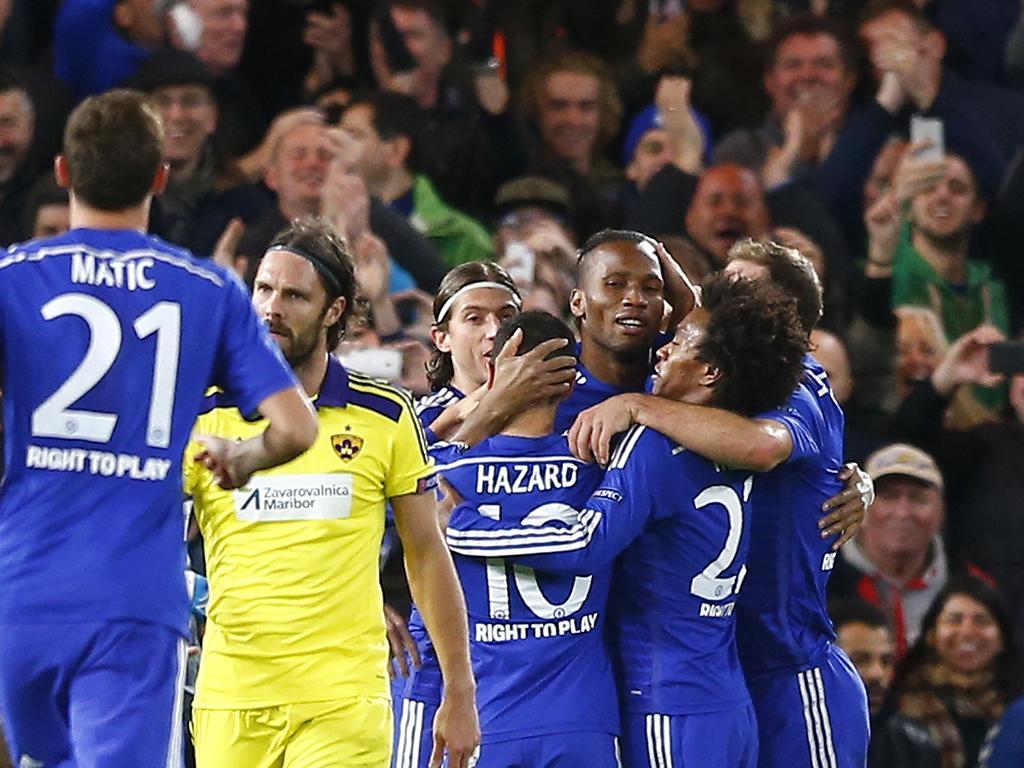 Chelsea vs Maribor (Reuters)