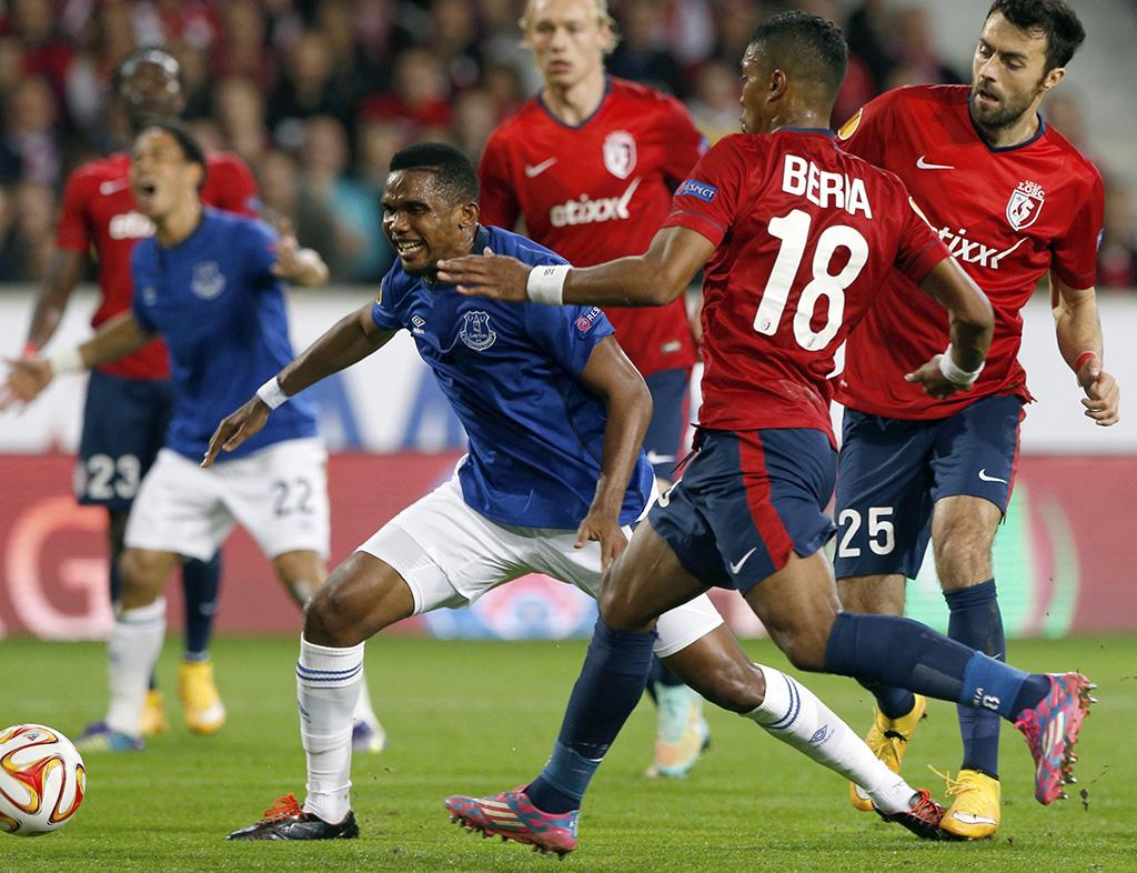 Lille vs Everton (REUTERS)