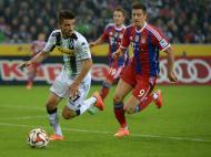 B. Moenchengladbach vs Bayern Munique (Lusa)