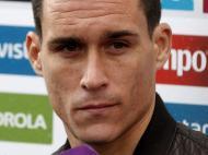 Concentração da seleção de Espanha (Lusa)