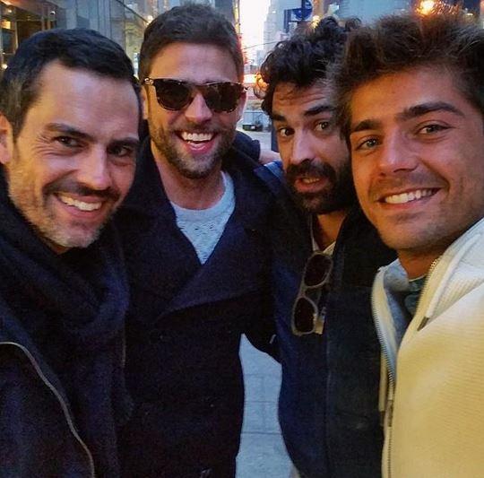 Filipe Duarte, Diogo Amaral, João Catarré e Lourenço Ortigão ...