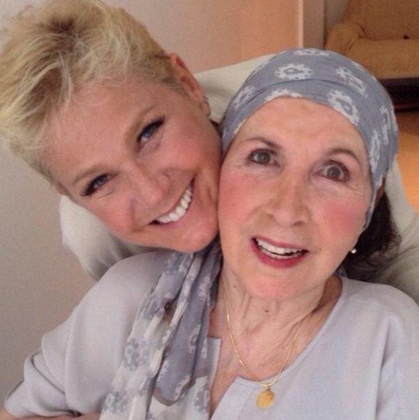 Xuxa com a mãe, Alda Foto DR