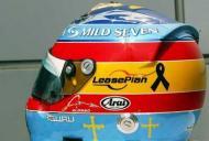 Capacete Fernando Alonso