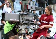 Totti festeja golo no «derby»