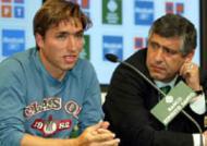Rui Jorge e Fernando Santos