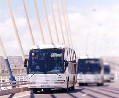 Autocarros de transportadora privada