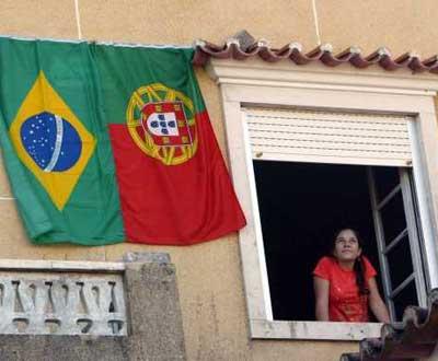 Imigrantes em Vila de Rei. Foto de Paulo Cunha para Lusa