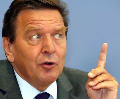 Gerhard Schroeder, chanceler alemão