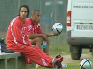Nuno Gomes e Sokota estão de volta