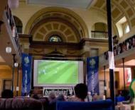 Mundial, dia 11 (Futebol ao vivo na igreja)