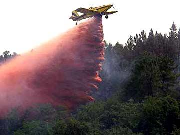 Combate aos incêndios