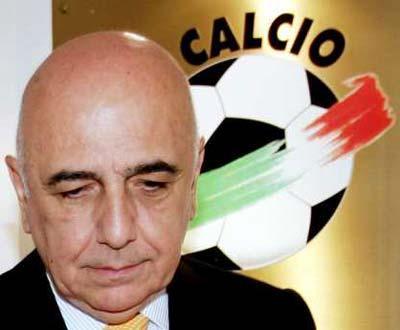 Adriano Galliani e o Calciocaos