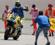 Rossi vestiu a camisola de Materazzi