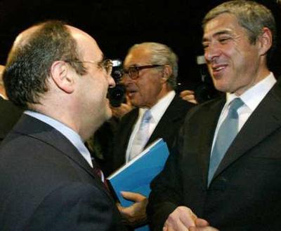 António Vitorino e José Sócrates