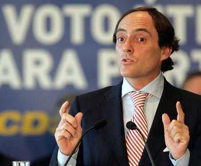 Paulo Portas na apresentação do programa eleitoral do CDS-PP