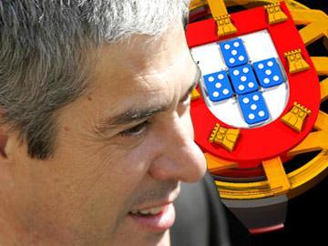 José Sócrates,  o primeiro-ministro de Portugal