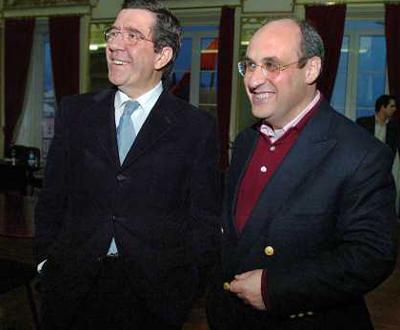 António Vitorino com Jorge Coelho