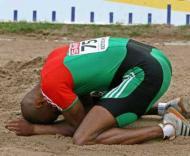 Nélson Évora falha medalha (foto EPA)