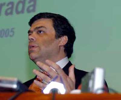 Ascenso Simões, secretário da Administração Interna