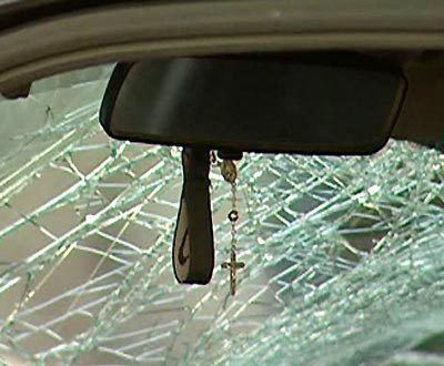 Acidente de automóvel (arquivo)