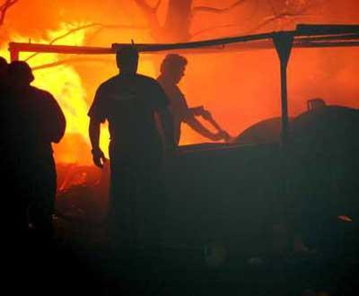Incêndio (arquivo) - Foto Lusa