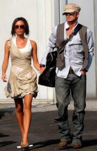 David e Victoria Beckham (Foto Lusa)
