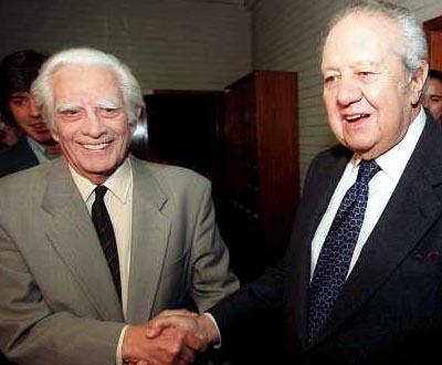 Cunhal e Soares juntos no último debate