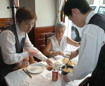 Restaurante (foto de arquivo)