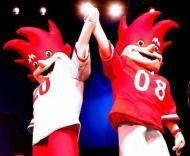 Duas mascotes para o Euro 2008