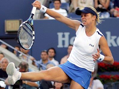 Kim Clijsters bate Maria Sharapova