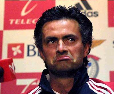 Mourinho Cara Benfica