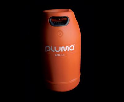 Nova garrafa de gás Galp Pluma